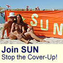 Join Studland United Nudists and Stop the Studland Cover-Up!