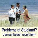 Studland United Nudists - Beach report form
